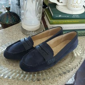 Land's End Suede Loafers Size 6B